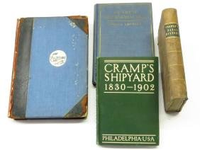 "4 ""HISTORY OF THE NAVY"" J. FENNIMORE COOPER 1845; 1902"