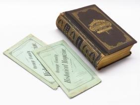 """""""HISTORY OF ORANGE COUNTY"""" RUTTENBER & CLARK 1881"""