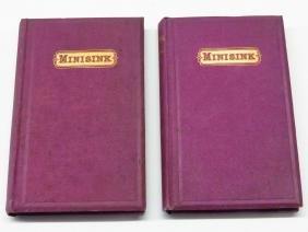"""2 """"HISTORY OF MINISINK"""" ORANGE COUNTY NY, 1867"""