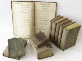 ASST INCL. JOHN YOUNGS BOOKS, ELLENVILLE NY 18/19TH C.