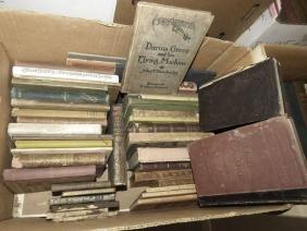 LOT SMALL BOOKS INCL LIFE OF WASHINGTON, CAMILLA ETC