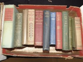 LOT TEXT BOOK IN HISTORY OF EDUCATION & ASST NOVELS