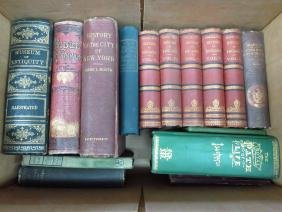 BOOK LOT HISTORY OF ENGLAND, HISTORY NYC, ETC