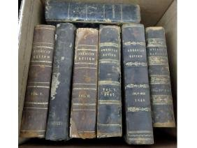 LOT (4) BOXES ASSORTED BOUND MAGAZINES 1840-1876