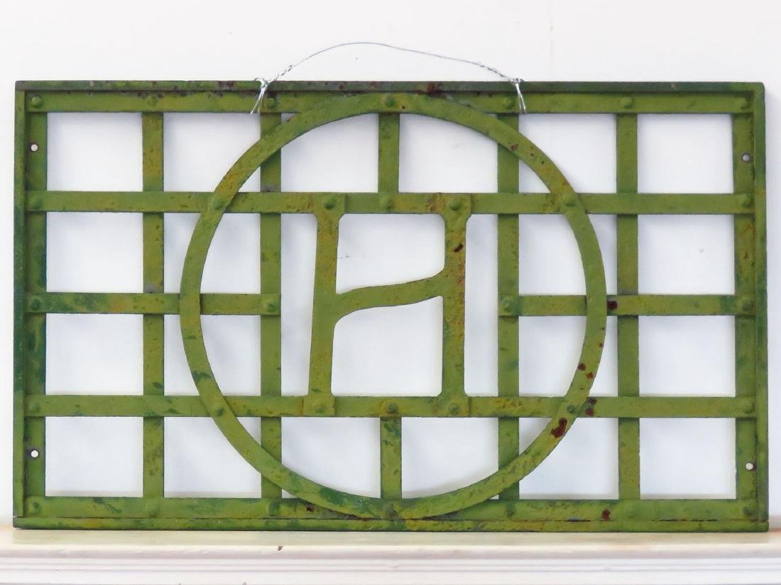 WROUGHT IRON WINDOW GATE OTTO HILLIG STUDIO