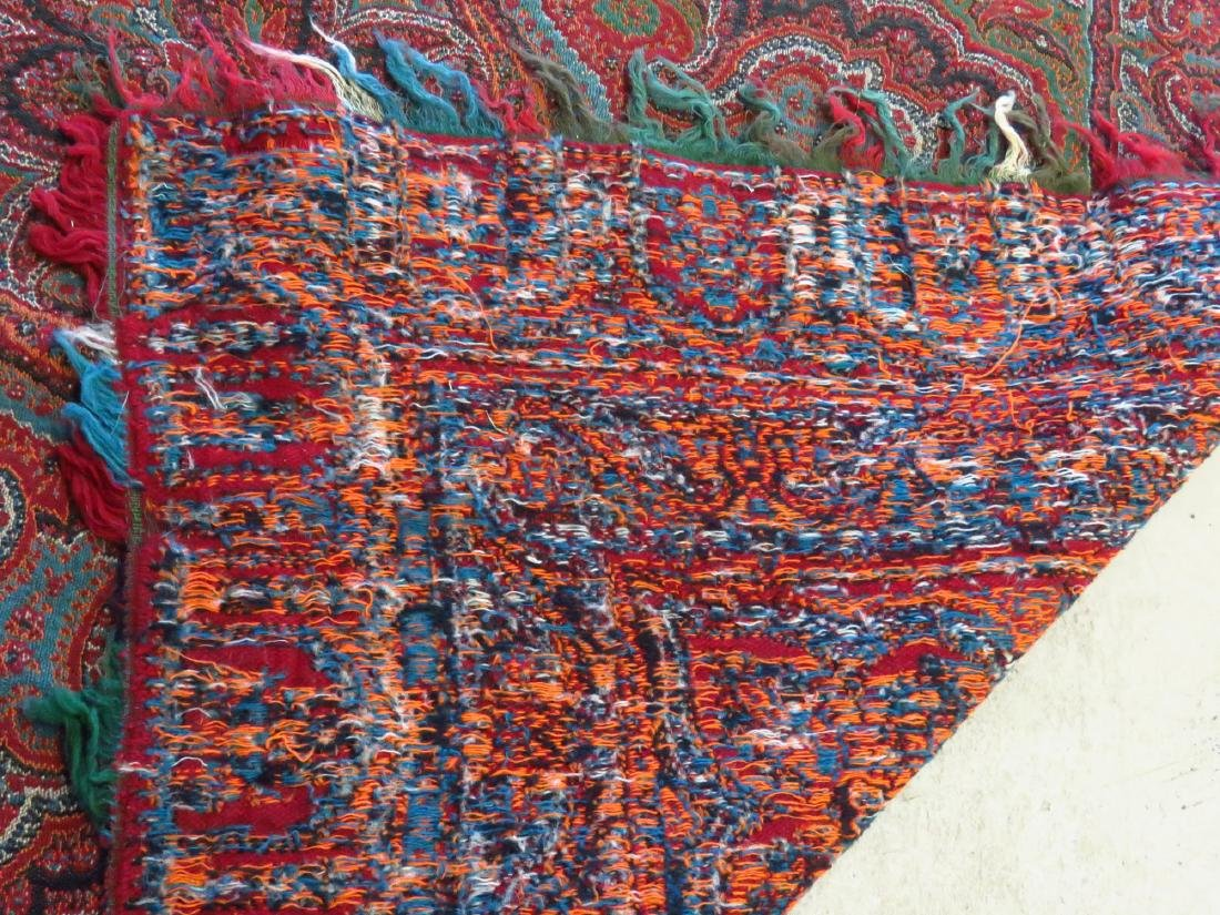 FINE EARLY PAISLEY CASHMERE SHAWL 19TH C. - 5