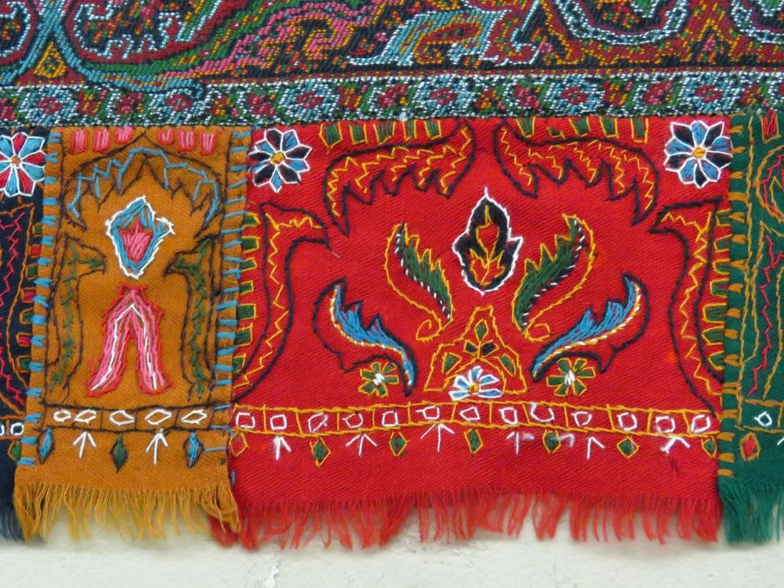 FINE/EARLY PAISLEY CASHEMERE SHAWL 19TH C. SIGNED - 4