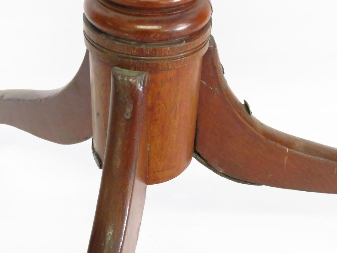 CHIPPENDALE CHERRY CANDLE STAND 18/19TH C. - 3