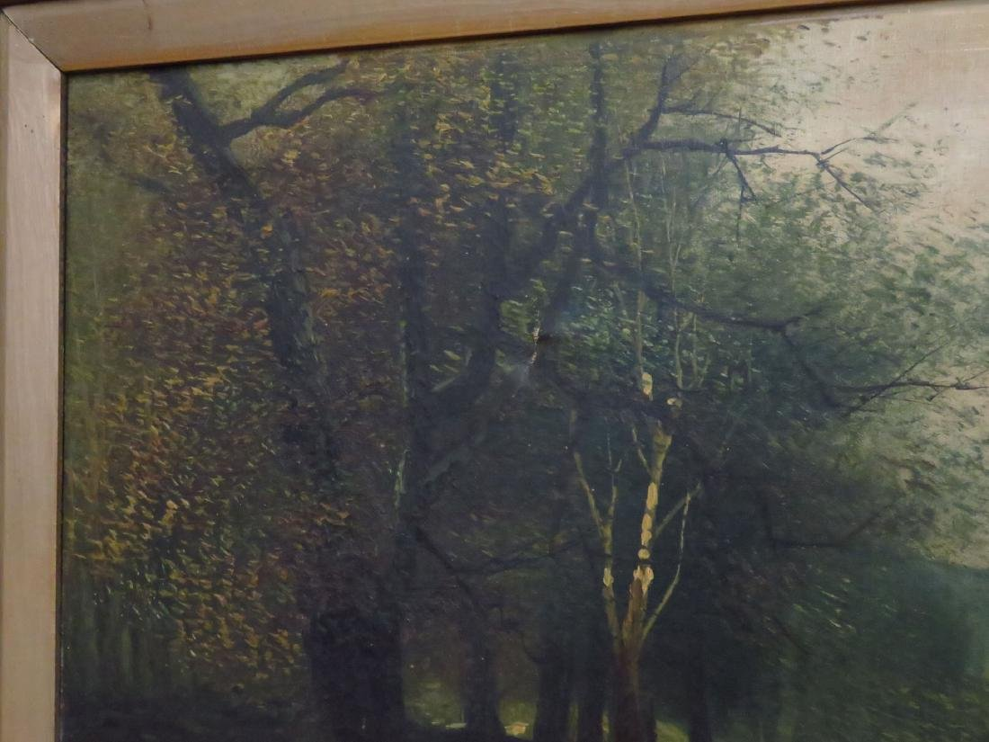 O/C HUDSON RIVER VIEW SIGNED A. CROPSY 19TH C. - 4