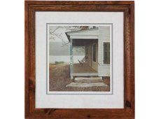 LITHO 'THE FRONT PORCH' SIGNED ERIC SLOANE 30/500