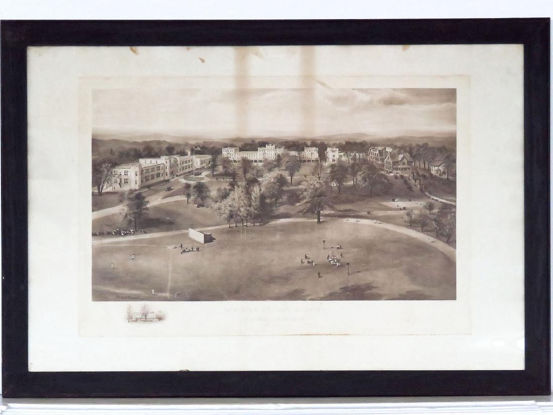 PRINT, NY MILITARY ACADEMY 1911