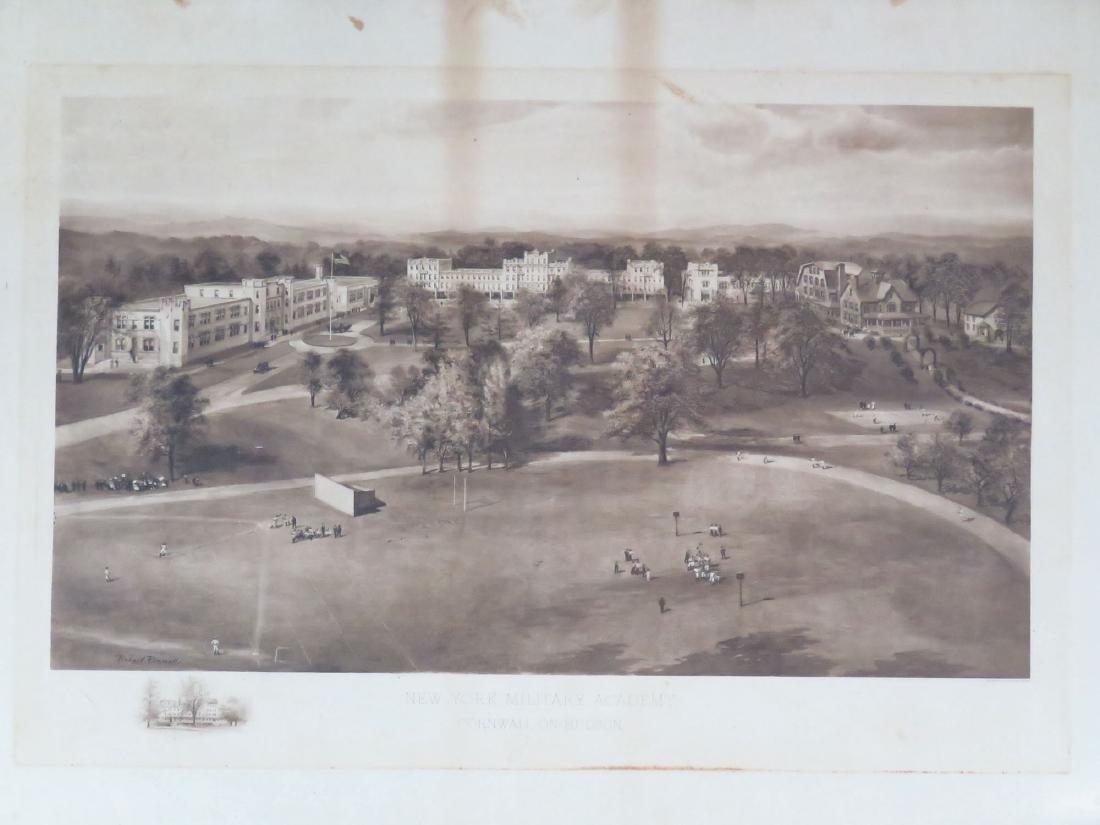 PRINT, NY MILITARY ACADEMY 1911 - 2