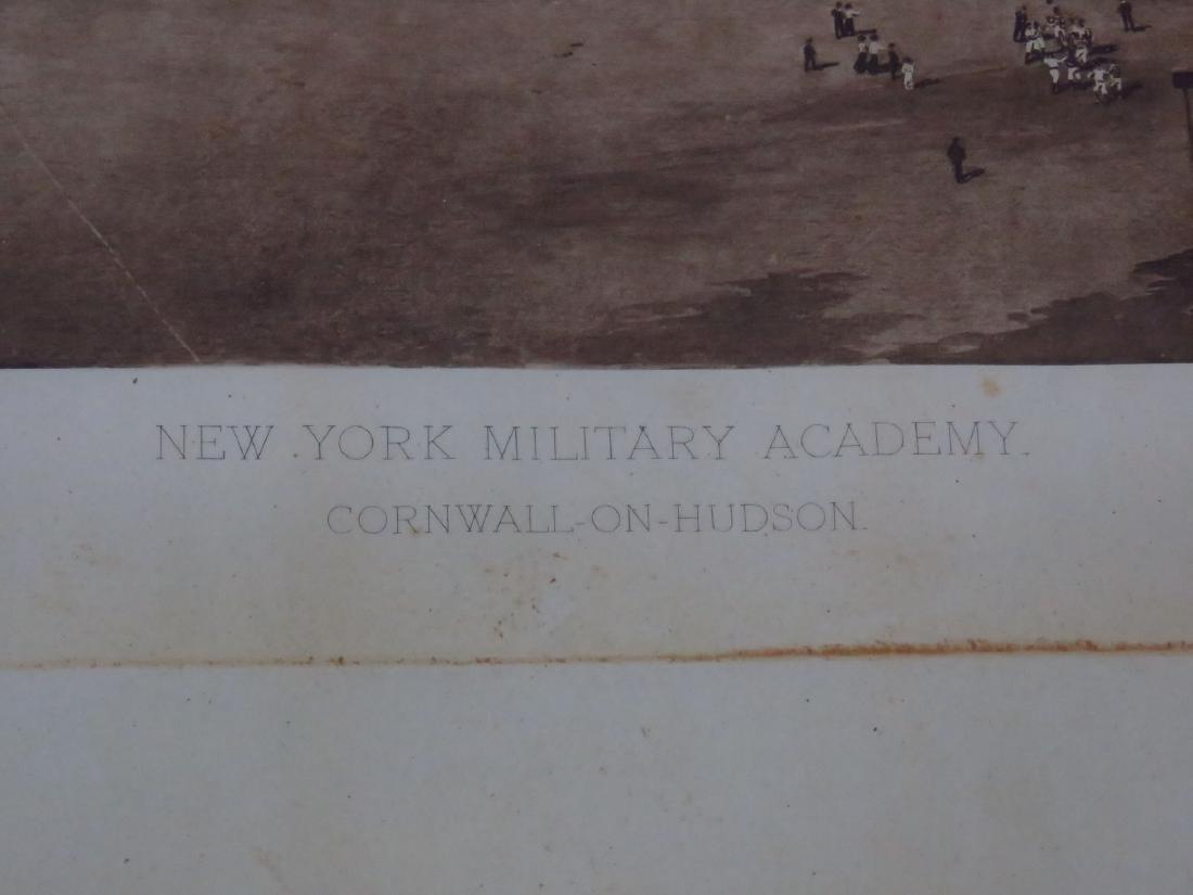 PRINT, NY MILITARY ACADEMY 1911 - 3