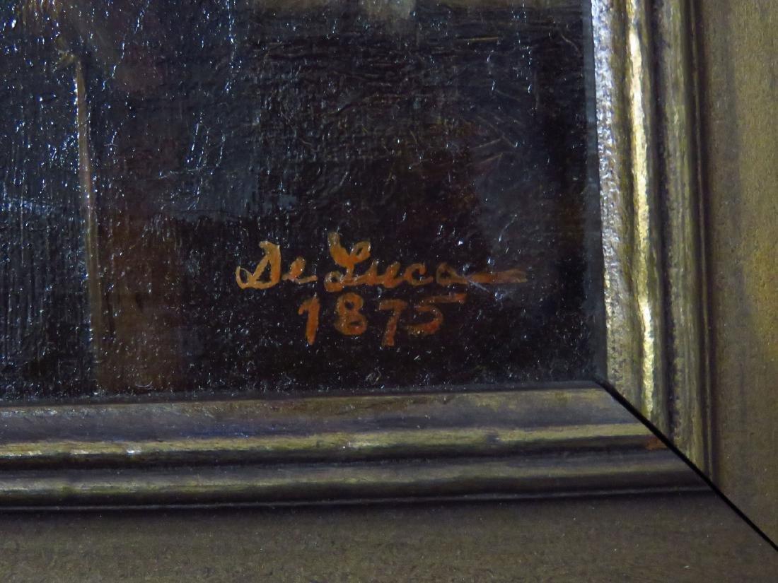 O/C GRANDPA'S BOY, SIGNED DE LUCA 1875 - 3