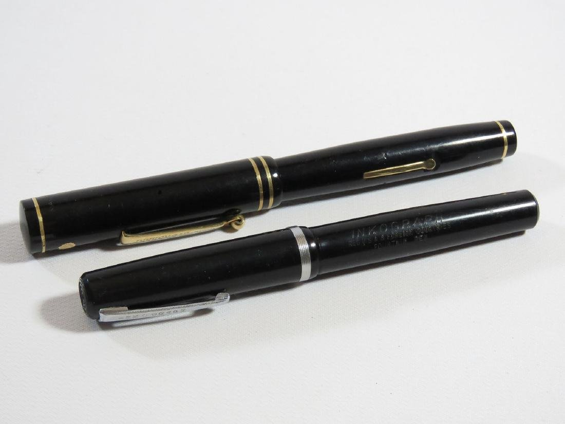 LOT (2) EVERSHARP-WAHL LIFETIME FOUNTAIN PEN/ETC.