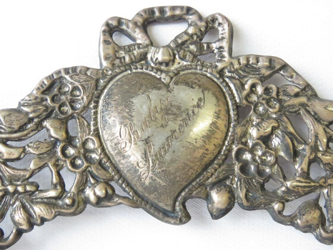 (2) RENAISSANCE STYLE STERLING FRAMES 19TH C. - 3