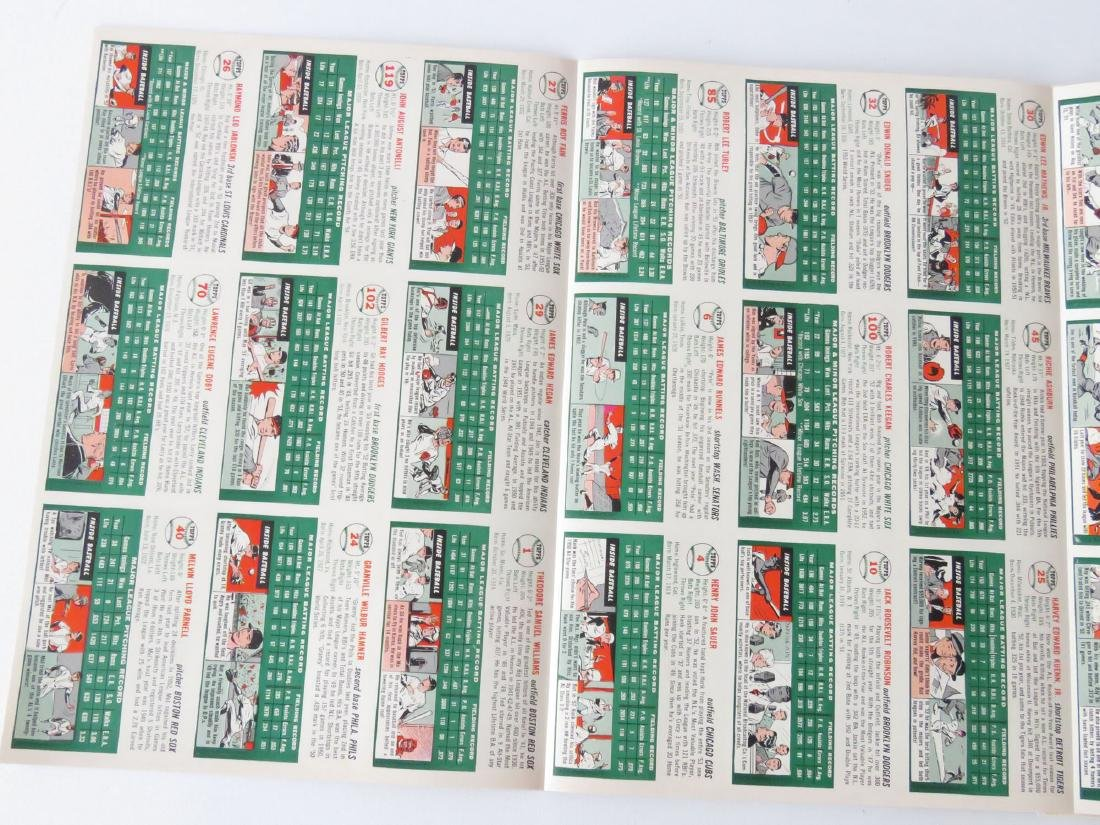 SPORTS ILLUS. 1ST ISSUE W/ BASEBALL CARDS, 1954 - 5