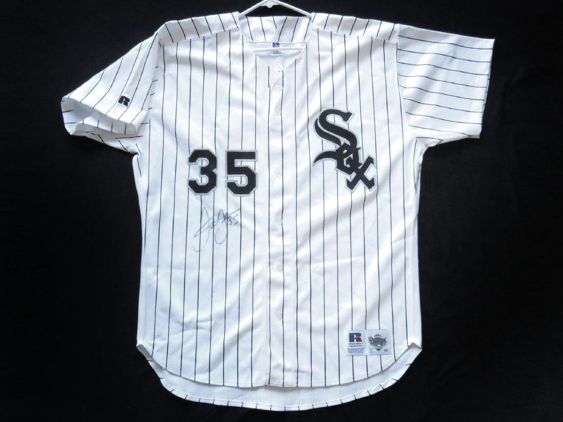 CHICAGO WHITE SOX #35 JERSEY SIGNED FRANK THOMAS