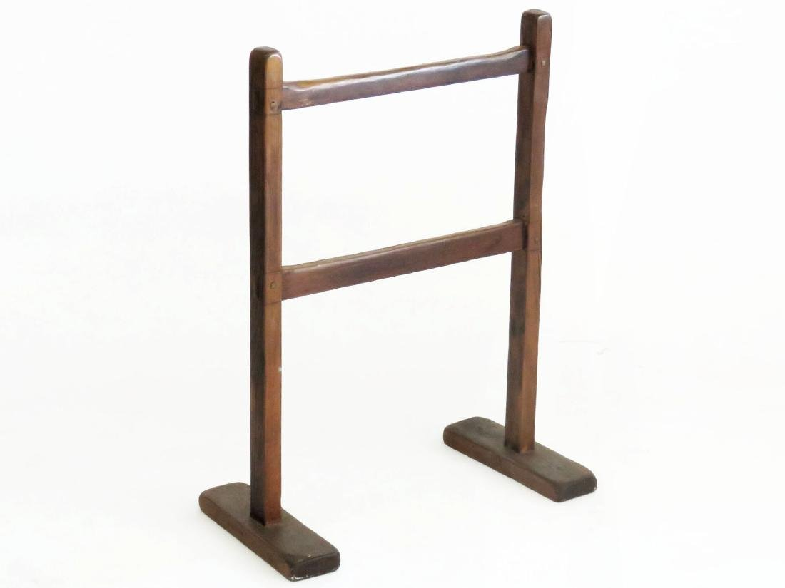 COUNTRY PINE HERB DRYING RACK 19TH C.