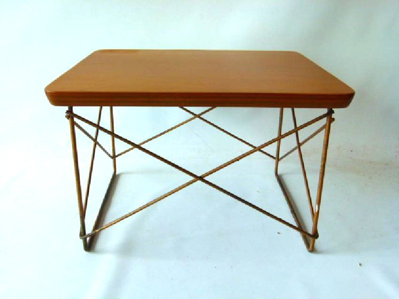 CHARLES EAMES LTR OCCASIONAL SIDE TABLE, C. 1950