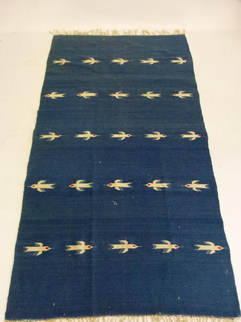 AMERICAN INDIAN NAVAJO BLANKET, C. 1940/50
