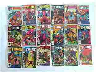 VINTAGE COMICS INCL THE THING 132 ICEMAN 14