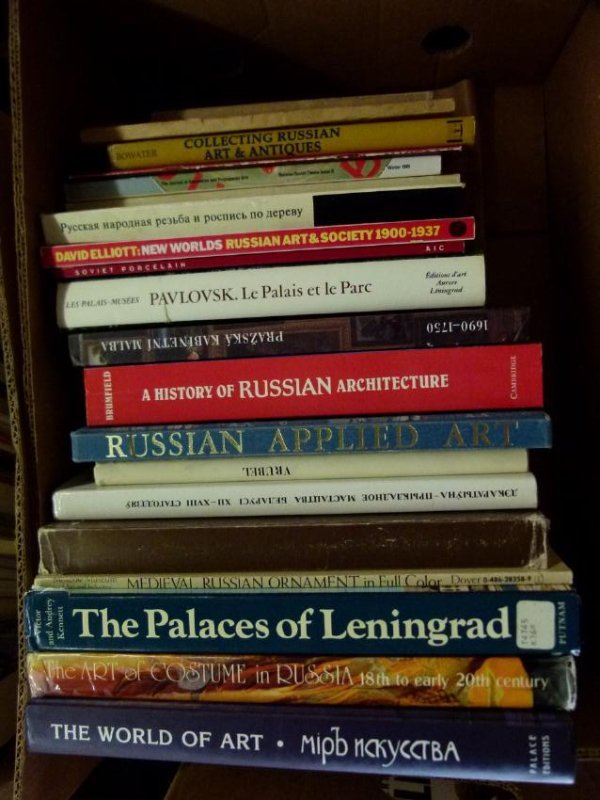 ART REFERENCE BOOKS INCLUDING RUSSIAN ART