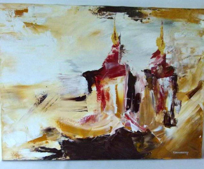 """THE CANDLES OF SHABAT"" #1 SIGNED V. SHINKAREVSKY"