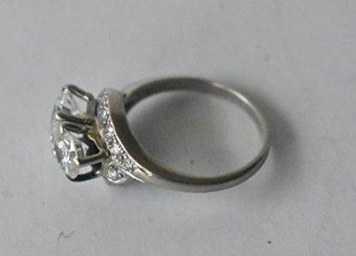 FINE 14 KT GOLD/1.9 CT. DIAMOND RING W/ UGL CERT. - 2