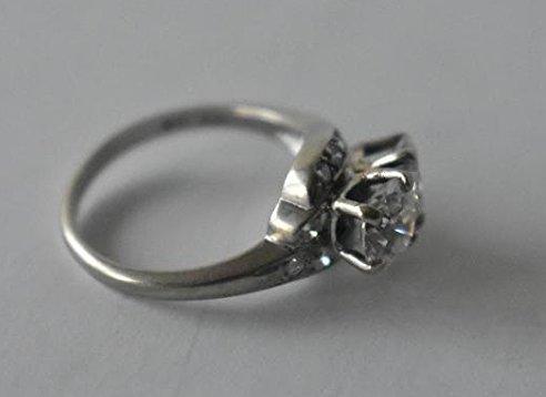 FINE 14 KT GOLD/1.9 CT. DIAMOND RING W/ UGL CERT. - 4