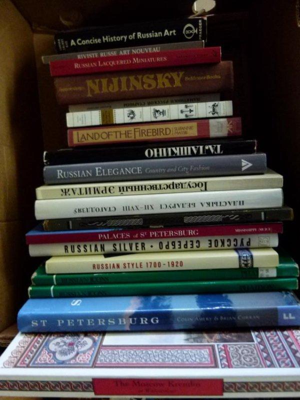 ART REF. BOOKS INCL. RUSSIAN ART, KREMLIN