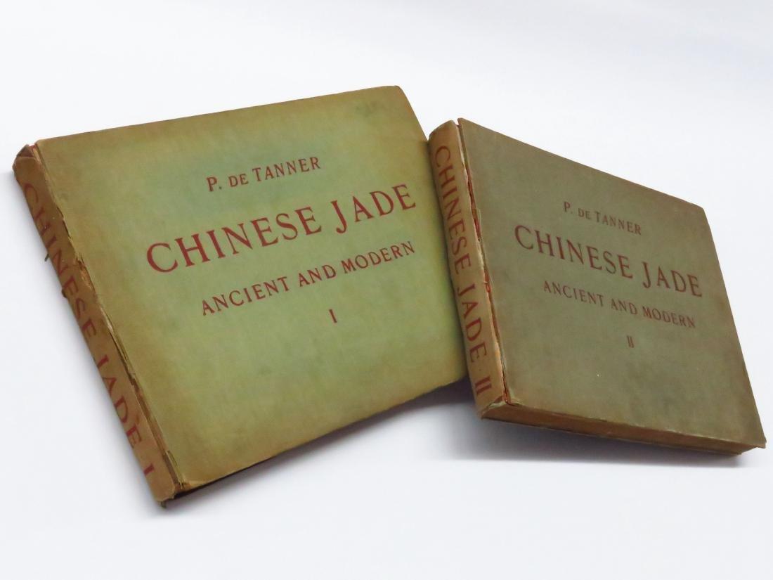 SET (2) VOLS. CHINESE JADE P. DE TANNER 1925