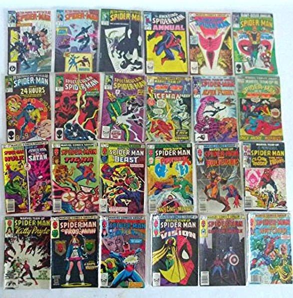 ASSORTED VINTAGE COMICS INCL SPIDER MAN, C. 1980