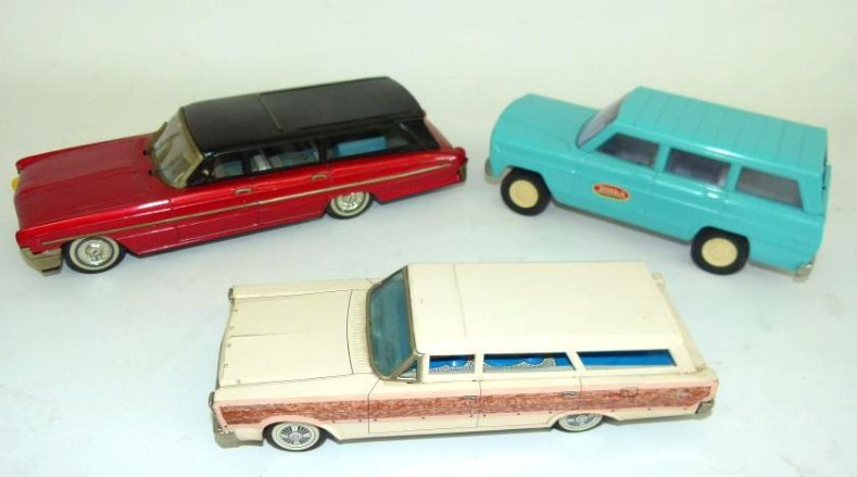 3 INCL. JAPANESE FRICTION STATION WAGONS (FORD/OLDS