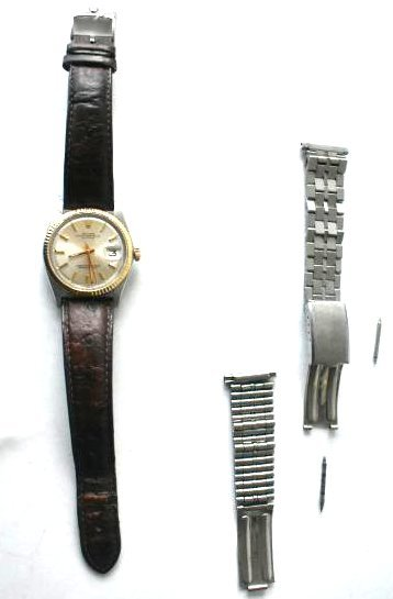 ROLEX TWO TONE OYSTER PERPETUAL W/ DATEJUST