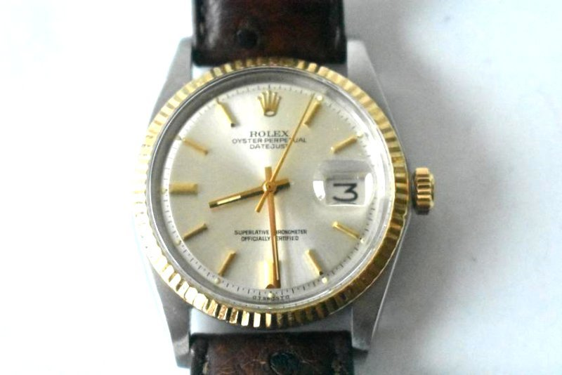 ROLEX TWO TONE OYSTER PERPETUAL W/ DATEJUST - 3