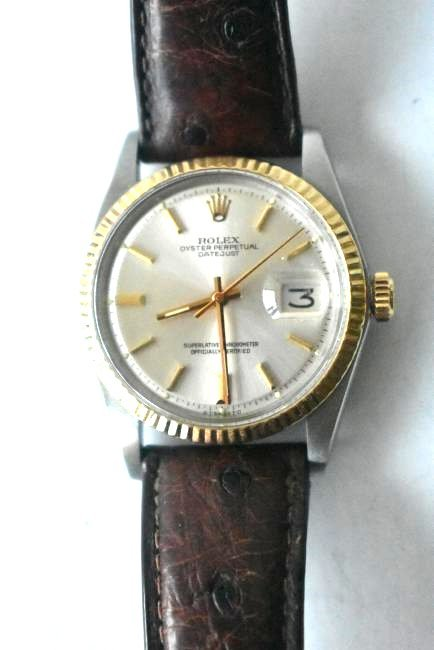 ROLEX TWO TONE OYSTER PERPETUAL W/ DATEJUST - 4