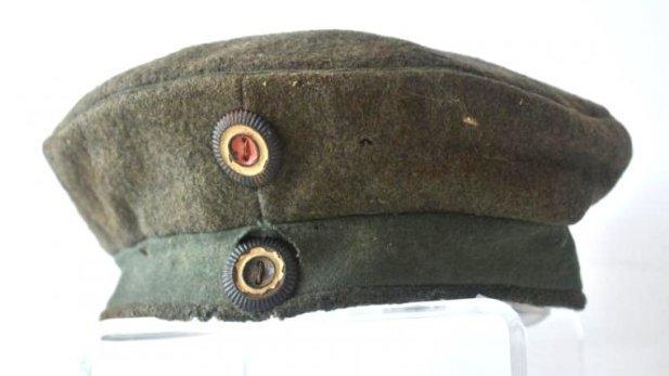 WWI IMPERIAL GERMAN WOOL PILL HAT 1918