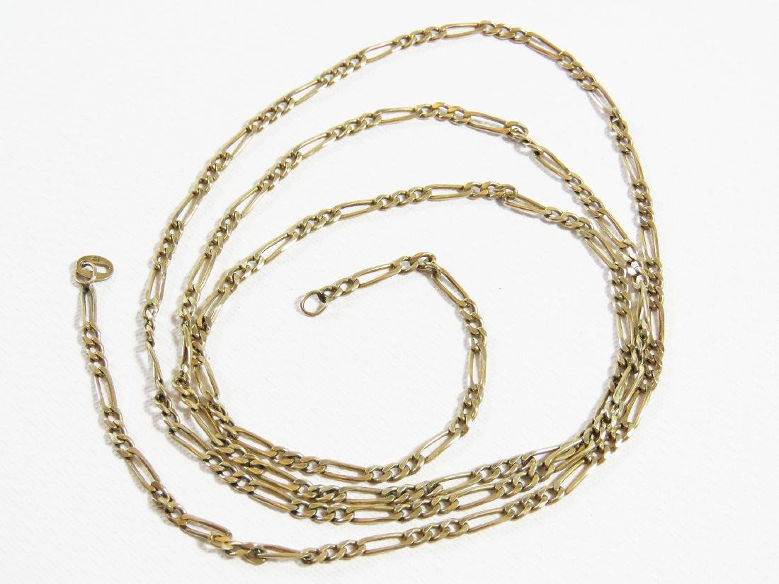 DELICATE 14K YELLOW GOLD NECKLACE