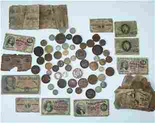 LOT (3) BAGS ASSORTED FRACTIONAL CURRENCY