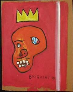BASQUIAT UNTITLED (RED KING)