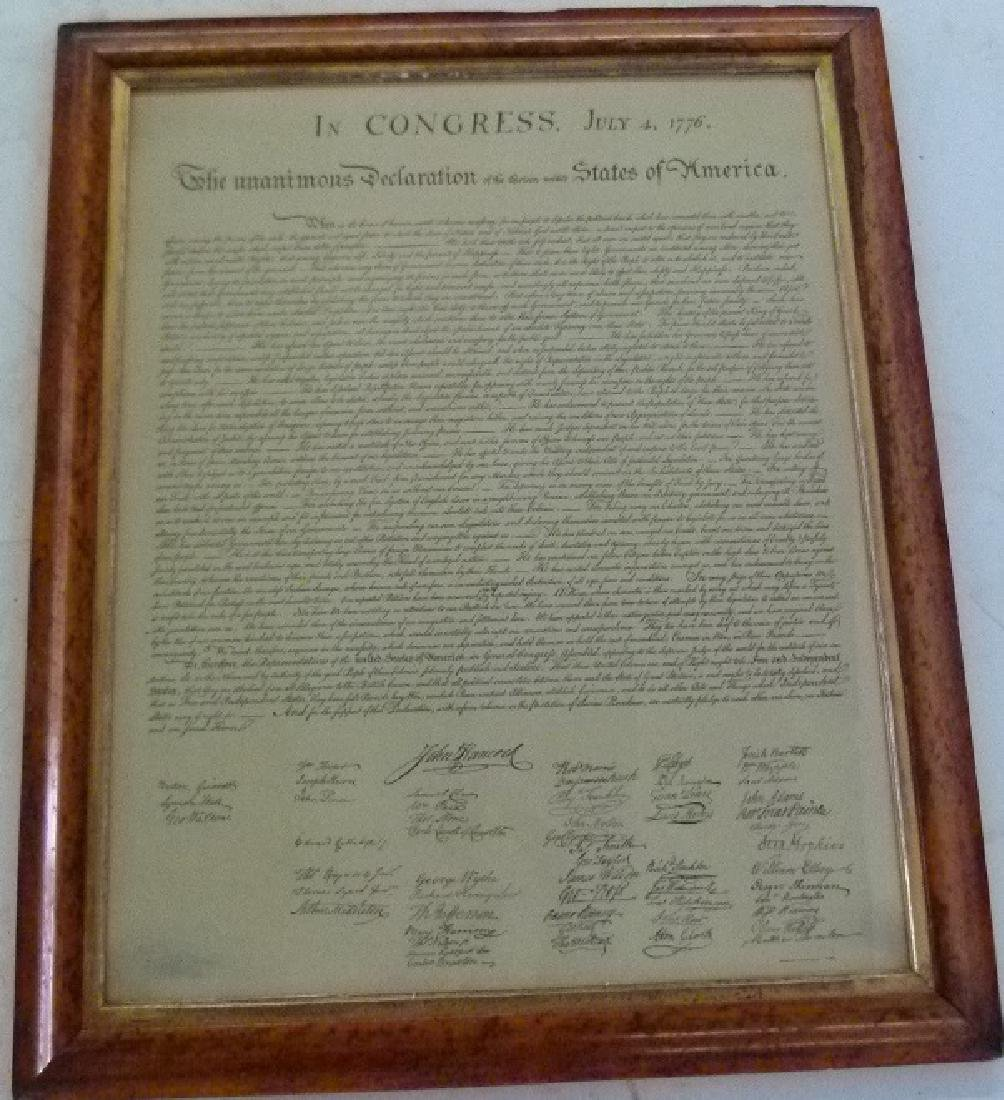 "PRINT ""DECLARATION OF INDEPENDENCE"""