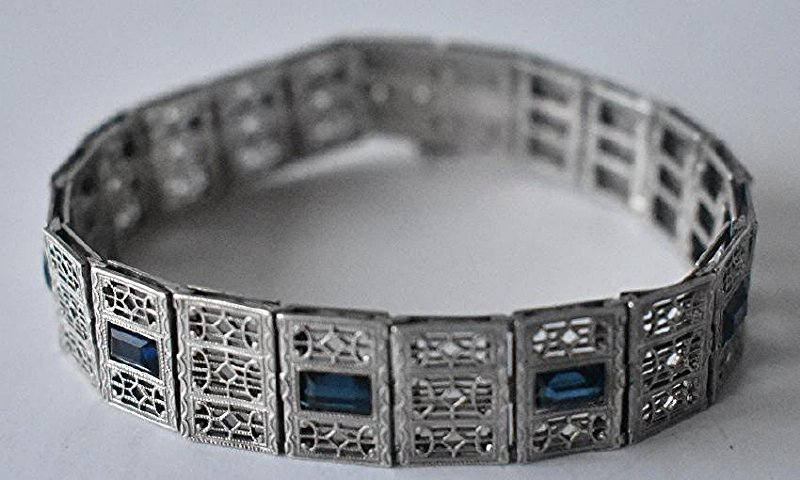 LOT (3) ASSORTED INCL. MEXICAN STERLING BRACELET - 4