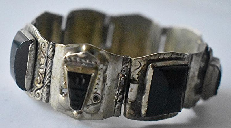 LOT (3) ASSORTED INCL. MEXICAN STERLING BRACELET - 5