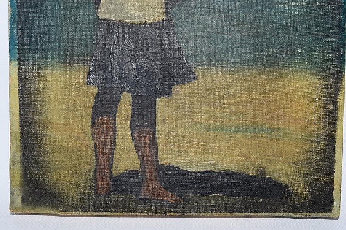 "O/C ""CHILD AT BEACH"" SIGNED ENOTRIO - 3"