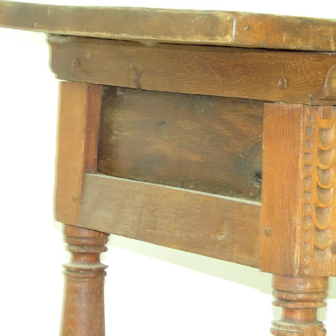 SPANISH COLONIAL SINGLE DRAWER TABLE - 5