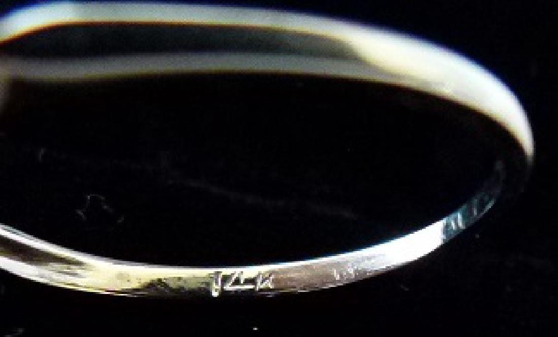 FINE ANTIQUE DIAMOND ENGAGEMENT RING C. 1930 - 5