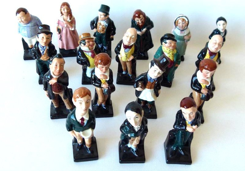 LOT (18) ROYAL DOULTON DICKENS FIGURINES/VARIOUS