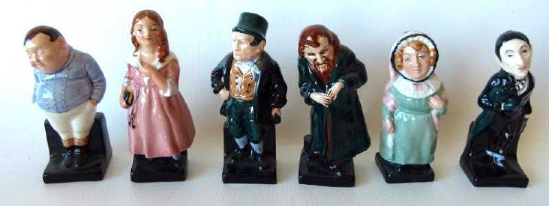 LOT (18) ROYAL DOULTON DICKENS FIGURINES/VARIOUS - 2