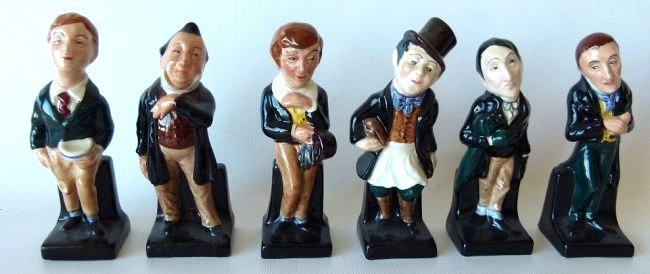 LOT (18) ROYAL DOULTON DICKENS FIGURINES/VARIOUS - 6
